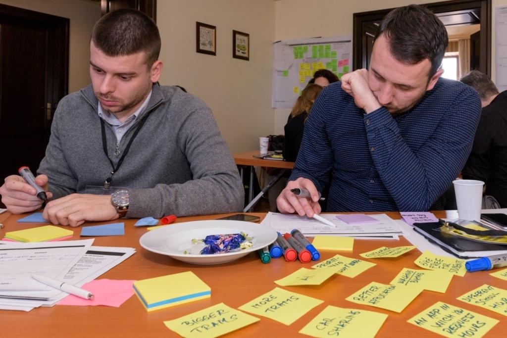 Develop / Ideation faza u Design Thinking procesu.