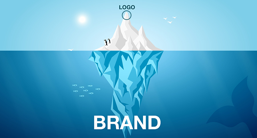 Brend nije logo.